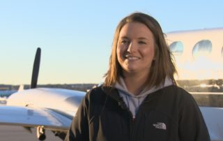 UW Madison Student Flies With Badger Aviators