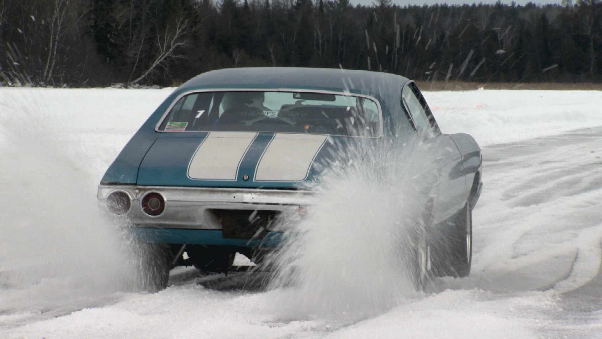 Drivers Slide Into Sport Of Drag Racing On Ice Wisconsin Life