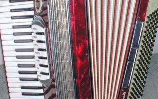 A Lo Duca Bros. Symphonette Accordion.