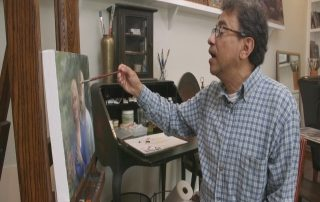 Venezuelan Artist Now Lives in Door County, Paints Scenes