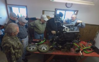 Waupaca Veterans Repurpose Mobility Devices For Fellow Veterans
