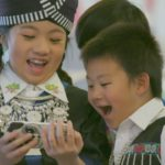 Hmong children in traditional costume