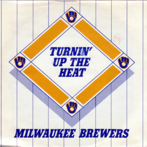 "Front of vinyl sleeve for ""Turnin' Up The Heat."""