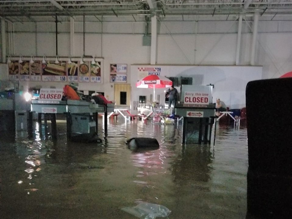 Inside the Middleton , Wisconsin Costco on August 20, 20