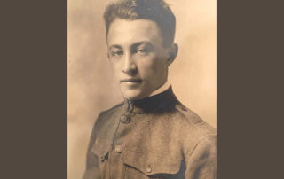 J. Vincent Hood in his WWI service uniform.