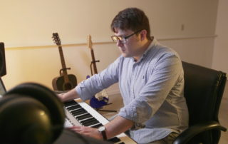 Janesville Man Fulfills Passion, Scores Films and Television