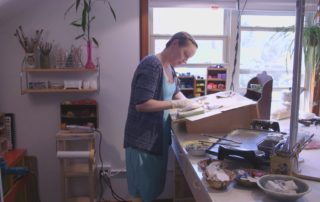 Stevens Point Artist Creates Buzz With Encaustic Art