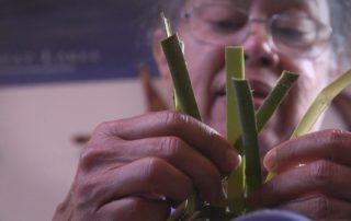 Washburn Woman Specializes In Basket Weaving With Native Materials