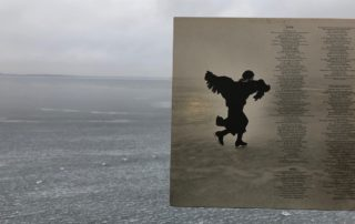 "Featured on the gatefold of Joni Mitchell's album ""Hejira"" is the musician skating on Lake Medota in Madison, Wisocnsin. (Maureen McCollum/WPR)"