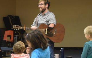 Musician Adapts To Limb Difference, Works With Kids