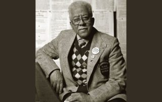 Dr. James Cameron in the first America's Black Holocaust Museum (Photo courtesy of ABHM)