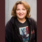 Comedian Jackie Kashian (Photo by Luke Fontana)
