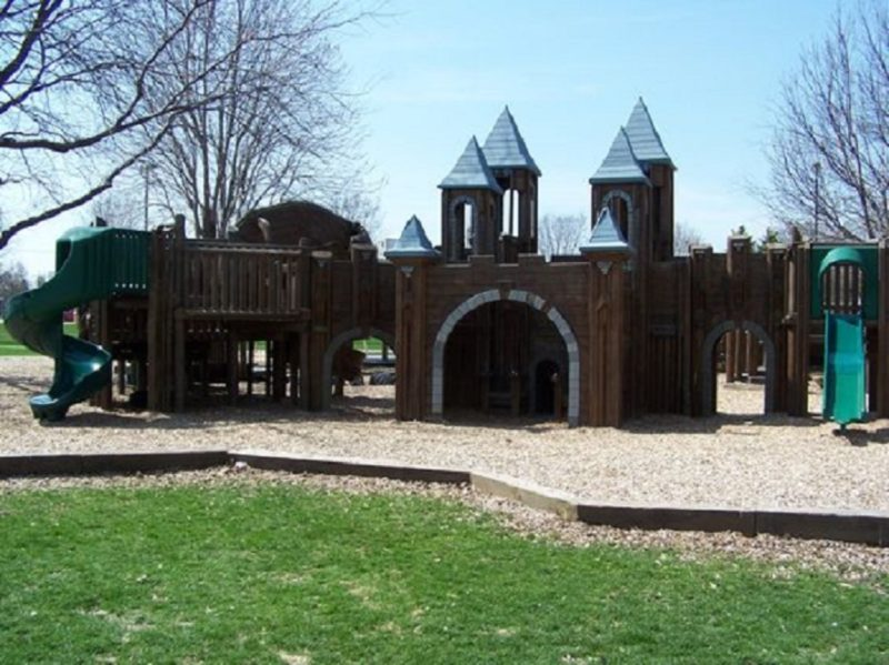Little Oshkosh playground in, Oshkosh, Wisconsin. (Photo by City of Oshkosh Parks Department)