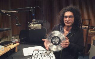 Amarrass Records co-founder, Ankur Malhotra. (Karl Christenson/WPR)