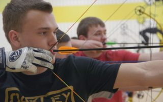 Cadott's World-Class Archer Right on Target