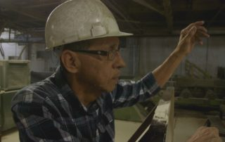 "Saw Mill Workers Use Unique Sign Language To ""Talk"" On Noisy Mill Floor"