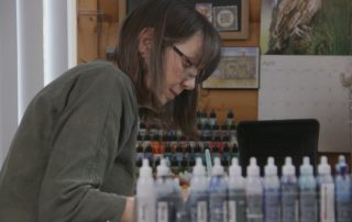 Cumberland Painter Learns To Control Alcohol Ink