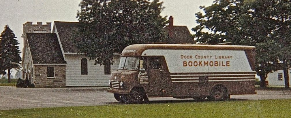 The Door County Bookmobile (Courtesy of Egg Harbor Historical Society)