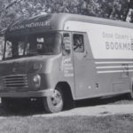 The Door County Bookmobile (Courtesy of the Egg Harbor Historical Society)