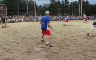 Lake Tomahawk's Snowshoe Baseball Puts A Twist on America's Pastime