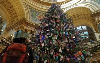 Who's Behind The Handmade Ornaments Adorning The Wisconsin Capitol Holiday Tree?