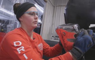 Randolph Woman Gets Her Hands Dirty in Male-Dominated Business