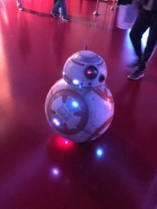 The BB-8 built by Phil Carper of Waukesha, Wisconsin. (Maureen McCollum/WPR)