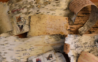 Dear Papa, I'm Writing To You On Birch Bark