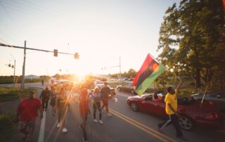 Milwaukee Black Lives Matter Protester Talks About 800-Mile March To Washington D.C.