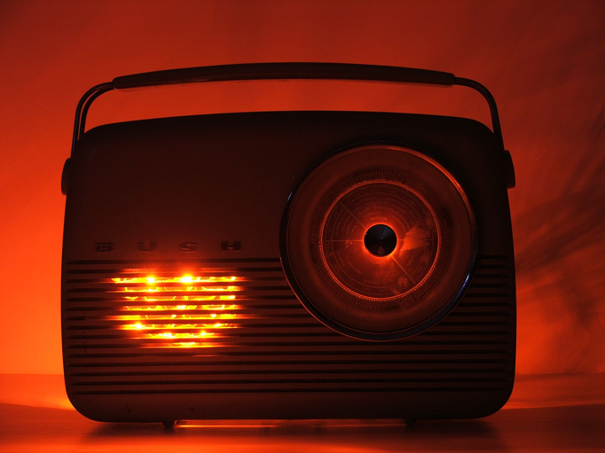 Spooky Radio (Photo by Matt Clark)