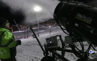 Snow Makers Keeping Wintertime Fun