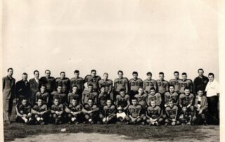 The 1950 Little Chute Flying Dutchmen team photo. (Courtesy of Gene Janssen)