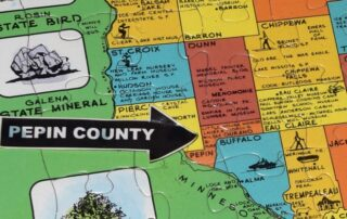 It 'Looks Like A Square Root Symbol': How Pepin County Got Its Shape